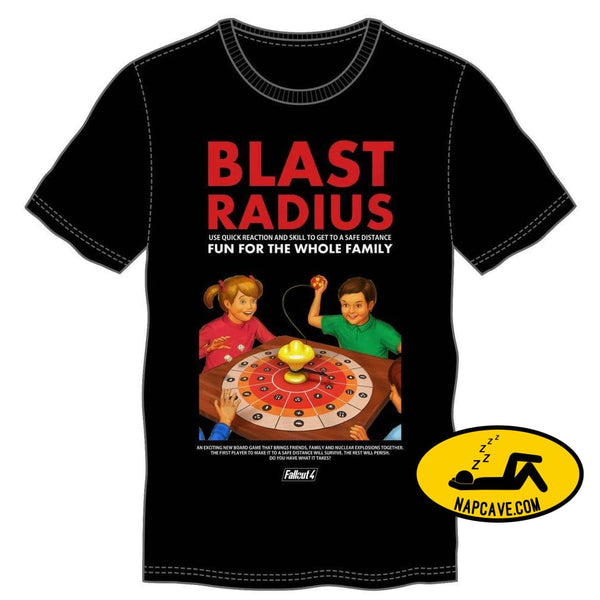 Blast Radius Board Game Mens Black T-Shirt New Arrivals Blast Radius Board Game Mens Black T-Shirt mxed