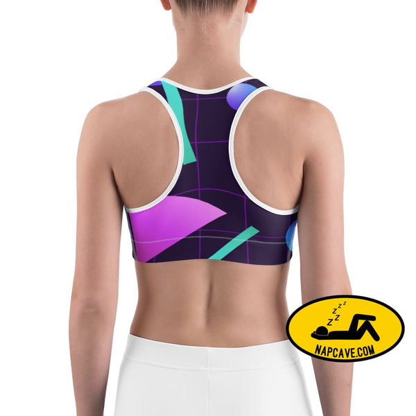 Blast to the Past in this decadent soft Lounge and Sports bra The NapCave Blast to the Past in this decadent soft Lounge and Sports bra 1980