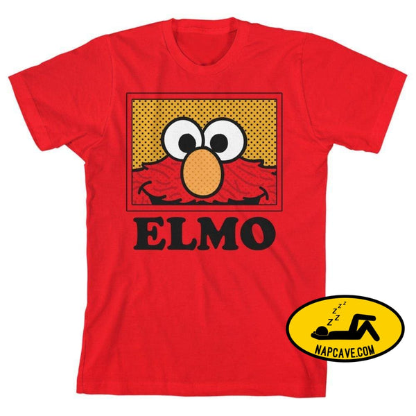 Boys Elmo Shirt Kids Clothing Sesame Street Apparel Print on Demand Products Boys Elmo Shirt Kids Clothing Sesame Street Apparel mxed