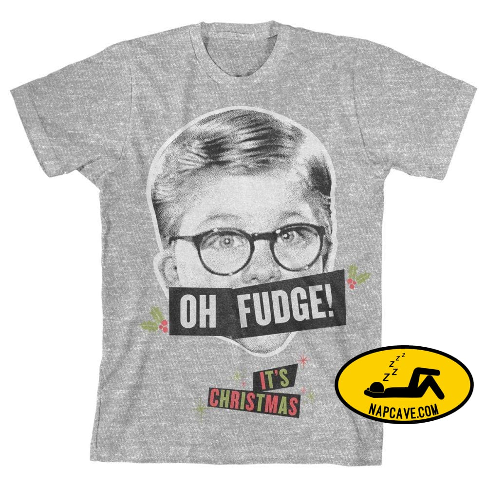 Boys Oh Fudge Shirt A Christmas Story Apparel Warner Bros Boys Oh Fudge Shirt A Christmas Story Apparel mxed