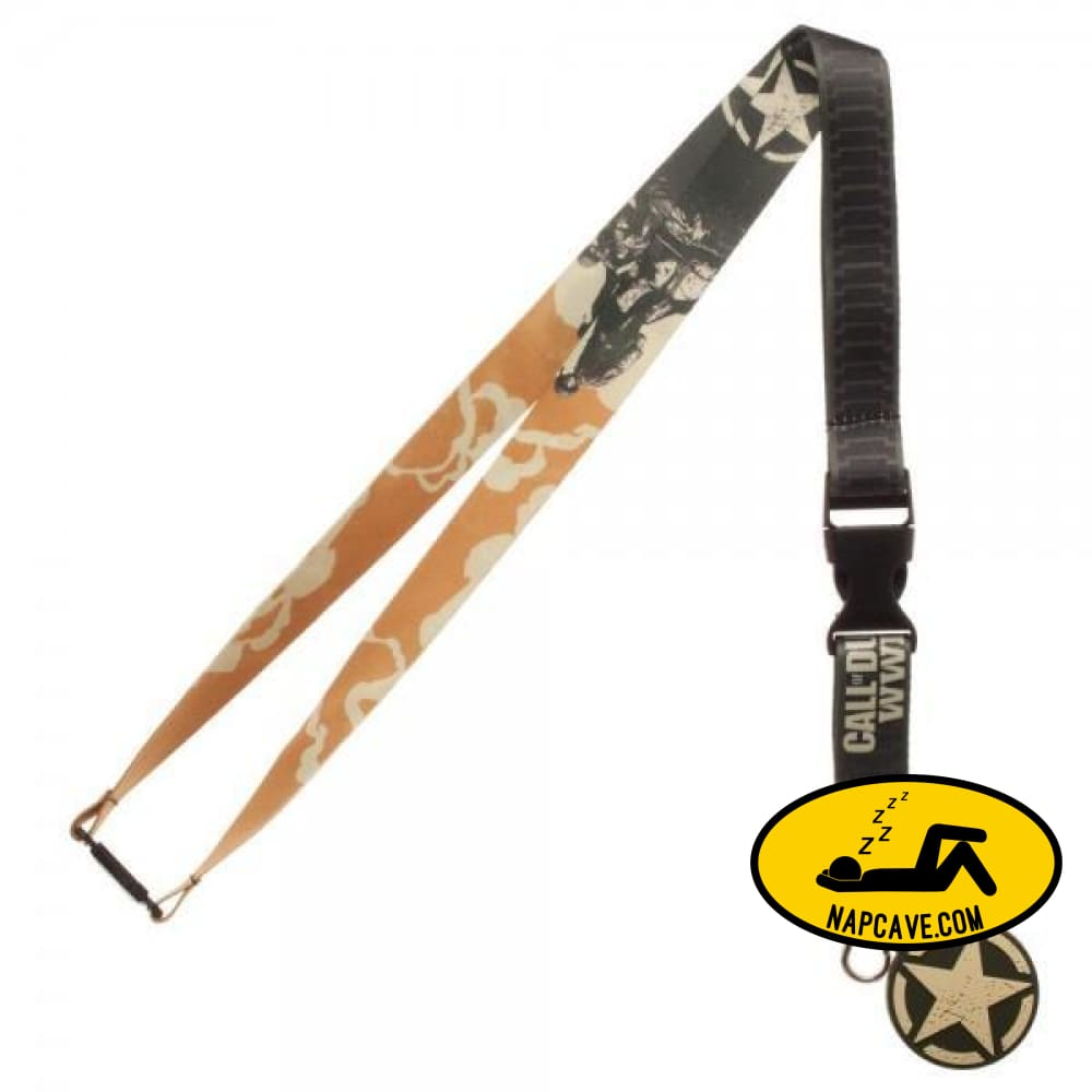 Call Of Duty WWII Lanyard Lanyard Call of Duty Mxed Call Of Duty WWII Lanyard call of Duty Key Chain key container keys lanyard