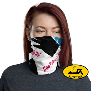Can't Touch This! Face mask Neck Gaiter Face mask The NapCave Can't Touch This! Face mask Neck Gaiter Can't Touch This!,Can't Touch This!