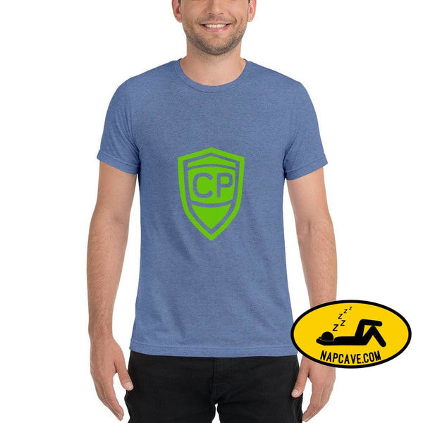Cerebral Palsy Superhero Short sleeve t-shirt Blue Triblend / XS The NapCave Cerebral Palsy Superhero Short sleeve t-shirt Cerebral Palsy