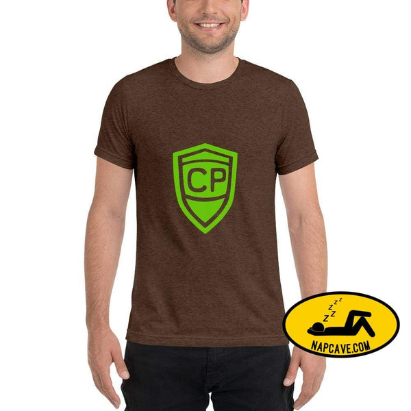 Cerebral Palsy Superhero Short sleeve t-shirt Brown Triblend / XS The NapCave Cerebral Palsy Superhero Short sleeve t-shirt Cerebral Palsy
