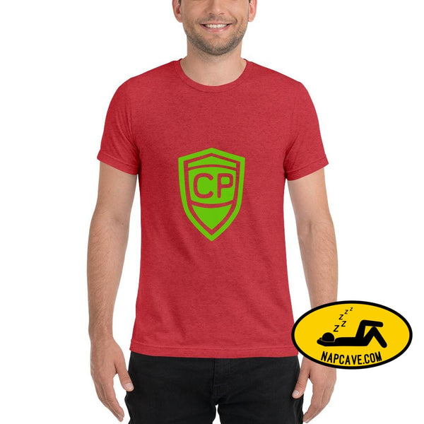 Cerebral Palsy Superhero Short sleeve t-shirt Red Triblend / XS The NapCave Cerebral Palsy Superhero Short sleeve t-shirt Cerebral Palsy