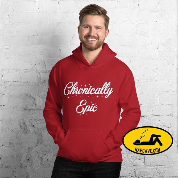 Chronically Epic Unisex Hoodie The NapCave Chronically Epic Unisex Hoodie All I want for Christmas All I want for Christmas are a few Spoons