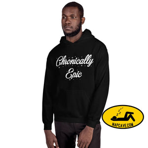 Chronically Epic Unisex Hoodie Black / S The NapCave Chronically Epic Unisex Hoodie All I want for Christmas All I want for Christmas are a