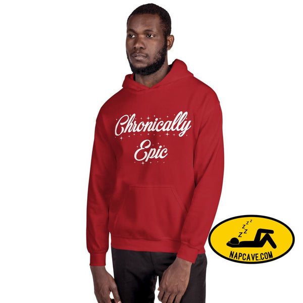 Chronically Epic Unisex Hoodie Red / S The NapCave Chronically Epic Unisex Hoodie All I want for Christmas All I want for Christmas are a