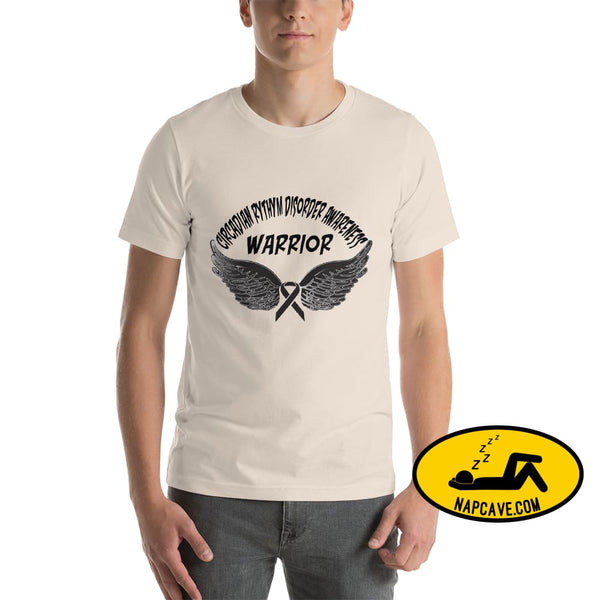 Circadian Rhythm Disorder Awareness Warrior Unisex T-Shirt Soft Cream / S SHIRT The NapCave Circadian Rhythm Disorder Awareness Warrior