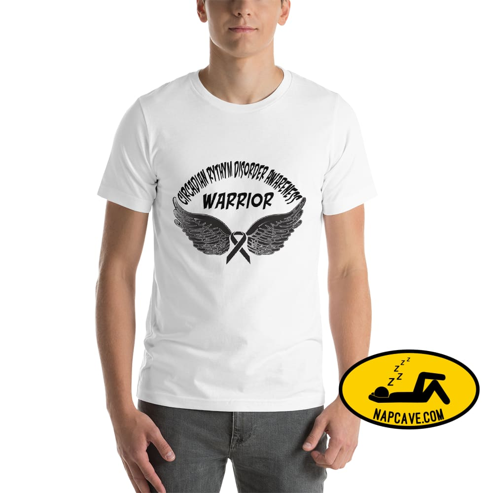 Circadian Rhythm Disorder Awareness Warrior Unisex T-Shirt White / XS SHIRT The NapCave Circadian Rhythm Disorder Awareness Warrior Unisex