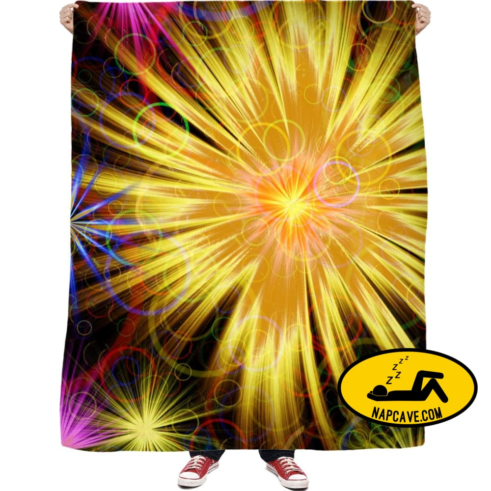 Colorful Bursts Blankets NapCave Colorful Bursts RageOn Connect rspid1383640924248