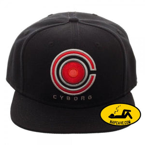 Core Line Cyborg Icon Embroidered Snapback Hat Mxed Core Line Cyborg Icon Embroidered Snapback baseball cap DC DC Comics Justice League mxed