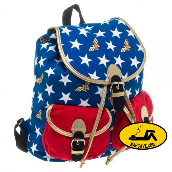 DC Comics Wonder Woman Knapsack Bag Backpack Wonder Woman DC Comics Wonder Woman Knapsack all American amazon amazon princess goddess back