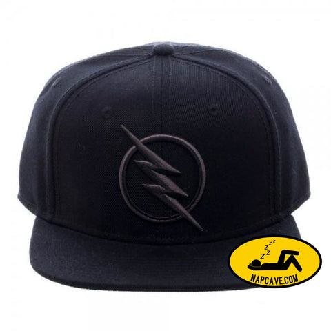 DC Comics Zoom Flash Logo Snapback Hat DC Comics DC Comics Zoom Flash Logo Snapback baseball cap bolt DC DC Comics fast