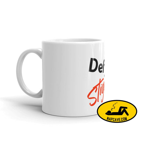 Defy Stigma Mug The NapCave Defy Stigma Mug awareness coffee mug Custom defy Stigma gift