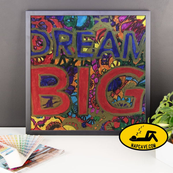 Dream Big by Sleepy American Nap Cave Dream Big by Sleepy American cataplexy dream dream big narcolepsy sleep disorders