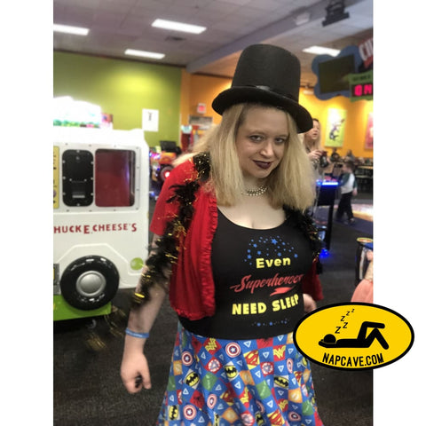 Even Superheroes Need Sleep Skater Dress Dress The NapCave Even Superheroes Need Sleep Skater Dress #batmanhasnarcolepsy Dress Even