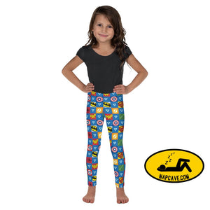 Every Sleepy Hero lil kid leggings Kids Leggings 2T The NapCave Every Sleepy Hero lil kid leggings Kids Leggings Every Sleepy Hero lil kid