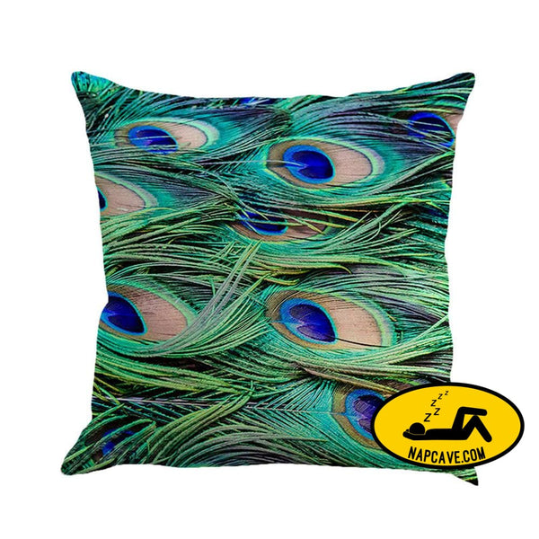 Feather Sofa Bed Home Decoration Pillow Case Cushion Cover Multicolor / E Throw pillow aliex Feather Sofa Bed Home Decoration Pillow Case