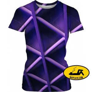 For You I Wear Purple Lines Women T-Shirts NapCave For You I Wear Purple Lines cataplexy Epilepsy fibromyalgia Purple lines RageOn Connect