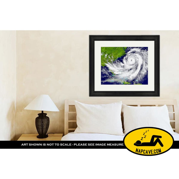 Framed Print Hurricane Over Florida And Cuba Framed Print Ashley Art Studio Framed Print Hurricane Over Florida And Cuba america art
