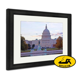 Framed Print Us Capitol Building Framed Print Ashley Art Studio Framed Print Us Capitol Building america american architecture art authority