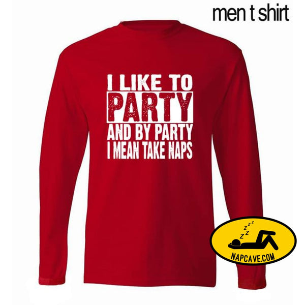 funny men t shirt I Take Naps By Party 2017 autumn new 100% cotton mens long sleeve T-shirt hip hop hipster mens sportswear AliExp funny men