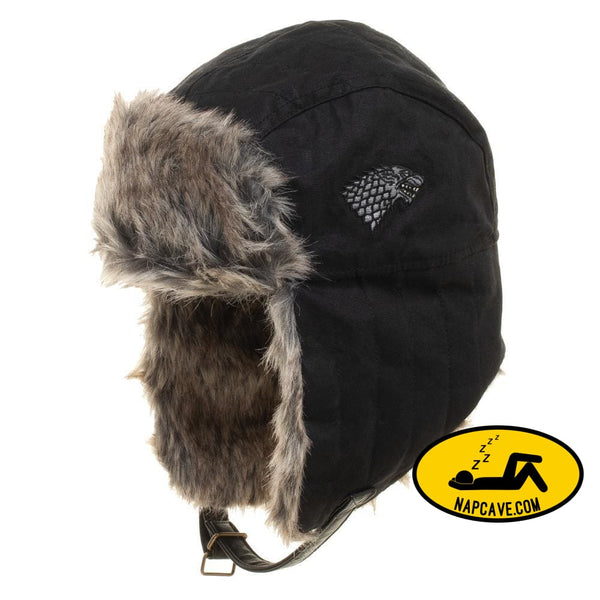 Game Of Thrones Faux Fur Trapper Hat Hat Game of Thrones Game Of Thrones Faux Fur Trapper Hat cozy winter has come Game of Thrones hat mxed