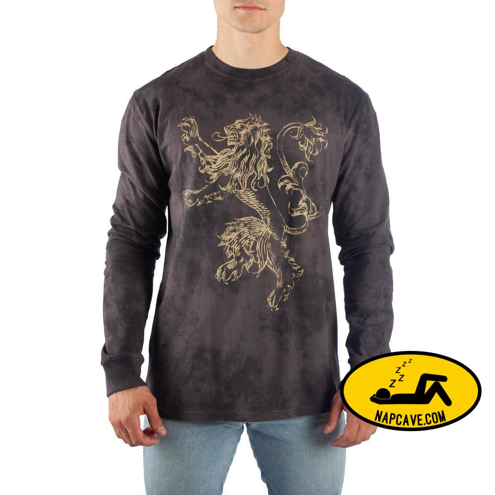Game of Thrones Long Sleeve Shirt Lannister TShirt Game of Thrones TShirt SHIRT Game of Thrones Game of Thrones Long Sleeve Shirt Lannister