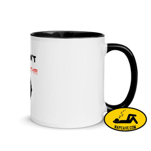 George Floyd I Can't Breathe Black Lives Matter Mug with Color Inside Black The NapCave George Floyd I Can't Breathe Black Lives Matter Mug