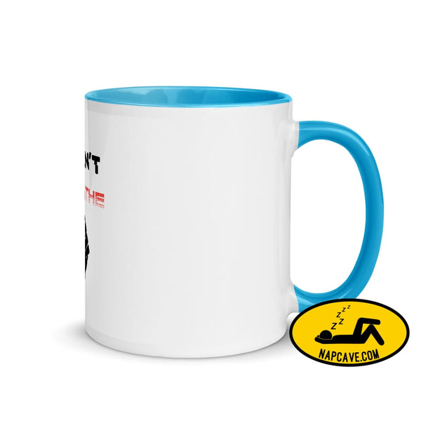 George Floyd I Can't Breathe Black Lives Matter Mug with Color Inside Blue The NapCave George Floyd I Can't Breathe Black Lives Matter Mug