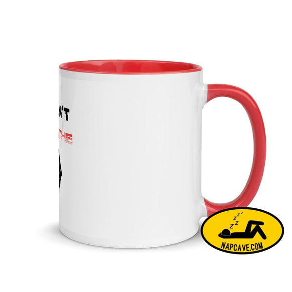 George Floyd I Can't Breathe Black Lives Matter Mug with Color Inside Red The NapCave George Floyd I Can't Breathe Black Lives Matter Mug