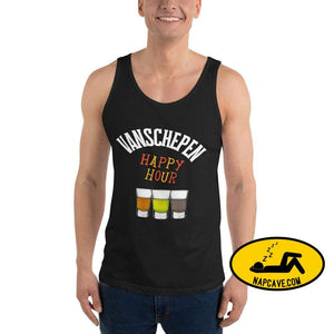 Happy Hour Black / XS tank top Nap Cave Happy Hour Friday Happy hour mens sports tank top