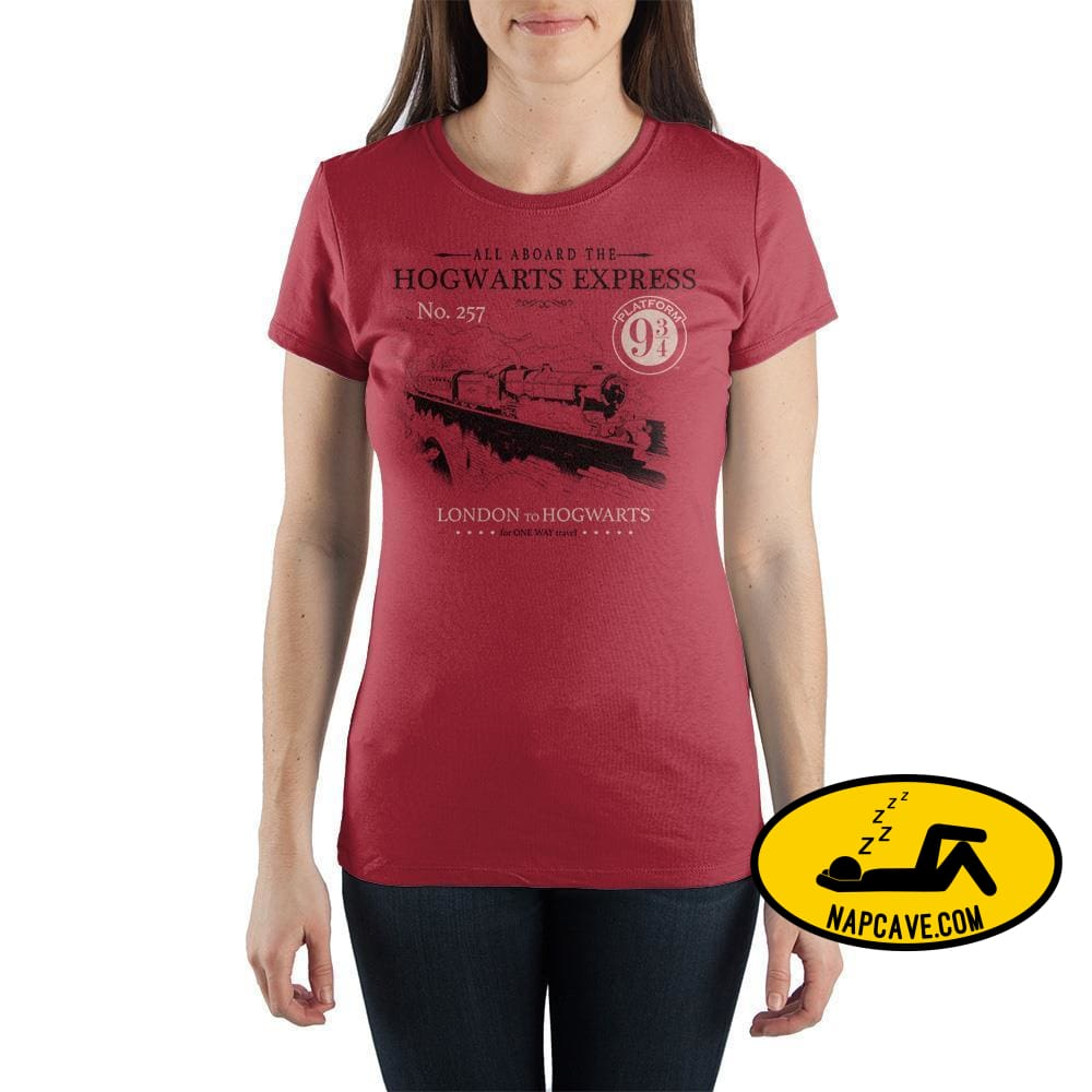 Harry Potter Hogwarts Express Crew Neck Short Sleeve T Shirt Harry Potter Harry Potter Hogwarts Express Crew Neck Short Sleeve T Shirt mxed