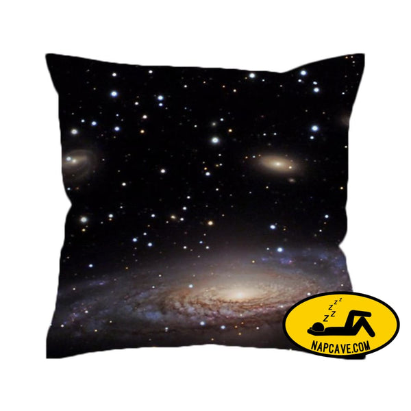 Hipster Galaxy Cushion Cover Universe Outer Space Themed Printed Pillow Cover Soft for Sofa 45cmx45cm / 001 The NapCave Hipster Galaxy