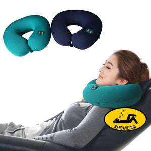 Hot Sell 1pc Portable Neck Rest Massager U Shape Electric Nap Pillow Massage for Home Office Train Plane Traveling HB88 AliExp Hot Sell 1pc