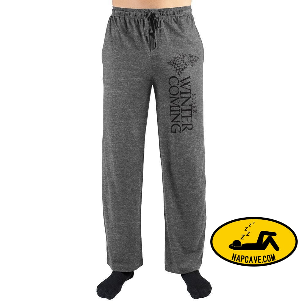House Stark Winter Is Coming Game Of Thrones Sweatpants The NapCave House Stark Winter Is Coming Game Of Thrones Sweatpants mxed