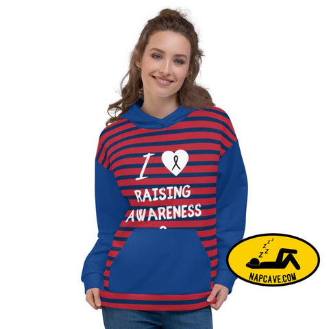 I love Raising Narcolepsy Awareness and Naptime custom hoodie For Barbie Unisex Hoodie M Hoodie The NapCave I love Raising Narcolepsy