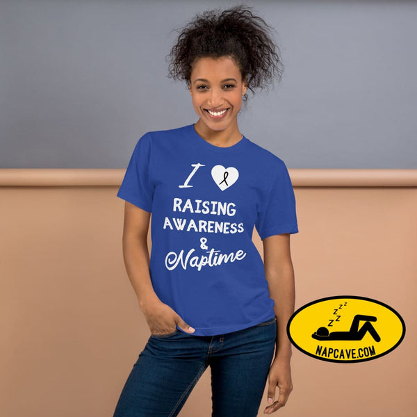 I love Raising Narcolepsy Awareness T-Shirt The NapCave I love Raising Narcolepsy Awareness T-Shirt cataplexy I Love Raising Narcolepsy