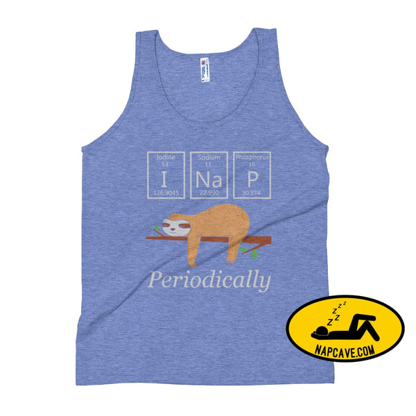 I Nap Periodically Unisex Tank Top Athletic Blue / XS The NapCave I Nap Periodically Unisex Tank Top