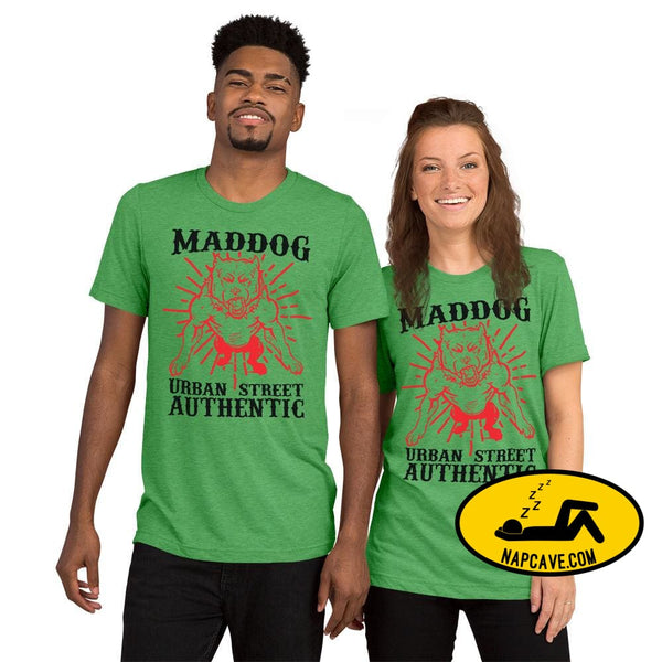 Imperial MadDog Urban TeeShort sleeve t-shirt Green Triblend / XS The NapCave Imperial MadDog Urban TeeShort sleeve t-shirt bikerlife dog