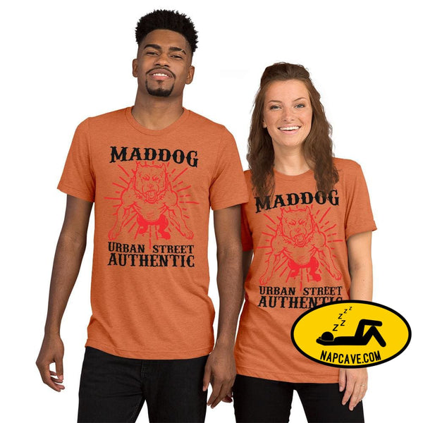 Imperial MadDog Urban TeeShort sleeve t-shirt Orange Triblend / XS The NapCave Imperial MadDog Urban TeeShort sleeve t-shirt bikerlife dog
