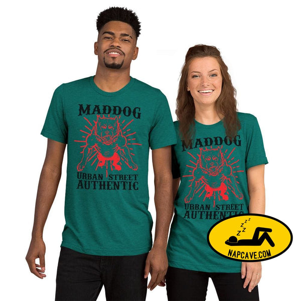 Imperial MadDog Urban TeeShort sleeve t-shirt Teal Triblend / XS The NapCave Imperial MadDog Urban TeeShort sleeve t-shirt bikerlife dog