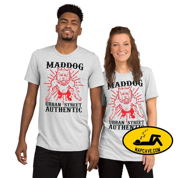 Imperial MadDog Urban TeeShort sleeve t-shirt White Fleck Triblend / XS The NapCave Imperial MadDog Urban TeeShort sleeve t-shirt bikerlife