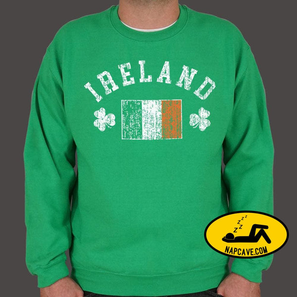 Ireland Sweater (Mens) Sweatshirt US Drop Ship Ireland Sweater (Mens) costumes culture day graphic holidays