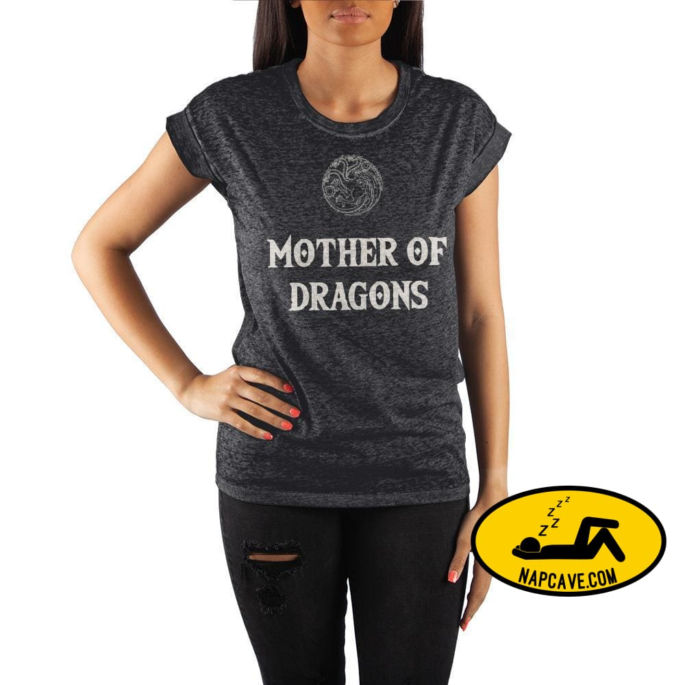 Juniors Mother of Dragons Tee Targaryen Shirt The NapCave Juniors Mother of Dragons Tee Targaryen Shirt mxed