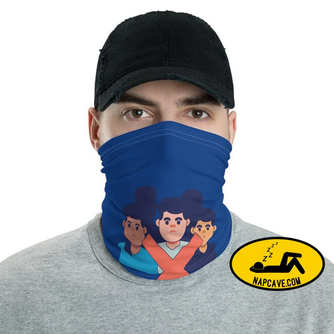 Just Say No to Crowds face mask Neck Gaiter The NapCave Just Say No to Crowds face mask Neck Gaiter Can't Touch This!,Can't Touch This! Face