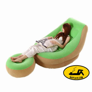 Lazy inflatable sofa bed furniture Aliex Lazy inflatable sofa bed inflatable inflatable lounger