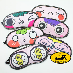 Lovely Sleeping Eye Mask soft Blindfold Shade Nap Cover Travel Rest night cute sleep masks mascara de dormir gaskets Aliex Lovely Sleeping