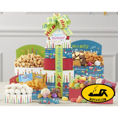 Make a Wish Gift Tower by Wine Country Gift Baskets Gift Basket Wine Country Gift Baskets Make a Wish Gift Tower by Wine Country Gift